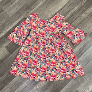 Roxy Girl Floral Bell Top